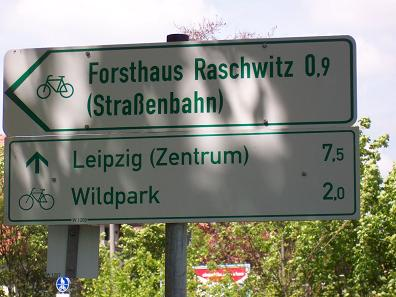 Am Goethesteig in Richtung Wildpark