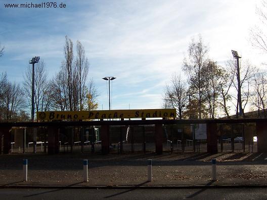 Bruno Plache Stadion in Probstheida an der Connewitzer Straße