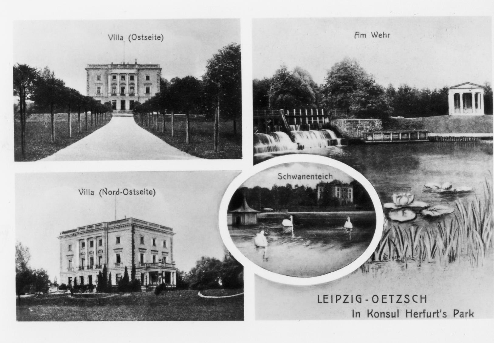 Herfurthsche Villa 1900